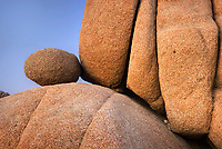Granite rock and boulders of Joshua Tree National Park California