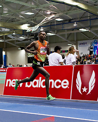 New Balance Indoor Grand Prix track meet: Men's 3000 meters, Dejen Gebremeskel