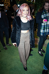 © Licensed to London News Pictures . 23/11/2018. Manchester , UK . Former Hollyoaks actor Hollie-Jay Bowes arrives at an opening event of The Ivy restaurant and bar venue in Spinningfields in Manchester City Centre . Photo credit : Joel Goodman/LNP
