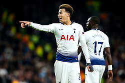 Dele Alli of Tottenham Hotspur - Mandatory by-line: Robbie Stephenson/JMP - 30/04/2019 - FOOTBALL - Tottenham Hotspur Stadium - London, England - Tottenham Hotspur v Ajax - UEFA Champions League Semi-Final 1st Leg