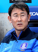 Fifa Womans World Cup Canada 2015 - Preview //<br /> Cyprus Cup 2015 Tournament ( Gsp Stadium Nicosia - Cyprus ) - <br /> South Korea vs Italy 1-2 , YOON Dukyeo  - Coach of South Korea