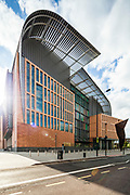 The Francis Crick Institute in London, by HOK Architects.