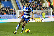 Reading forward Nick Blackman during the Sky Bet Championship match between Reading and Bristol City at the Madejski Stadium, Reading, England on 2 January 2016. Photo by Jemma Phillips.