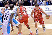 DESCRIZIONE : Milano Lega A 2014-15  EA7 Emporio Armani Milano vs Vagoli Basket Cremona<br /> GIOCATORE : Bruno Cerella<br /> CATEGORIA : Palleggio Blocco<br /> SQUADRA : EA7 Emporio Armani Milano<br /> EVENTO : Campionato Lega A 2014-2015<br /> GARA : EA7 Emporio Armani Milano vs Vagoli Basket Cremona<br /> DATA : 25/01/2015<br /> SPORT : Pallacanestro <br /> AUTORE : Agenzia Ciamillo-Castoria/I.Mancini<br /> Galleria : Lega Basket A 2014-2015  <br /> Fotonotizia : Cantù Lega A 2014-2015 Pallacanestro : EA7 Emporio Armani Milano vs Vagoli Basket Cremona<br /> Predefinita :