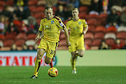 Burnley midfielder Scott Arfield  during the Sky Bet Championship match between Middlesbrough and Burnley at the Riverside Stadium, Middlesbrough, England on 15 December 2015. Photo by Simon Davies.