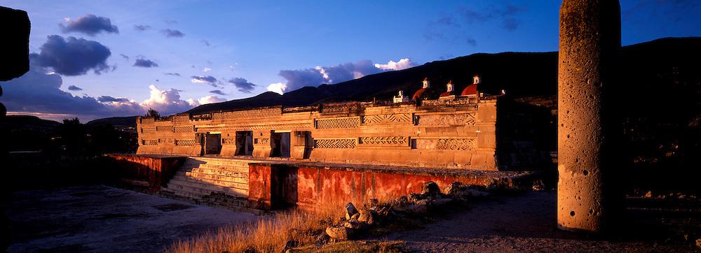 MEXICO, ZAPOTEC AND MIXTEC Mitla; 'Hall of Columns' mosaics