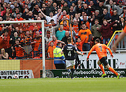 Dundee United's Nadir Çiftçi opens the scoring  - Dundee United v Dundee at Tannadice Park in the SPFL Premiership<br /> <br />  - © David Young - www.davidyoungphoto.co.uk - email: davidyoungphoto@gmail.com