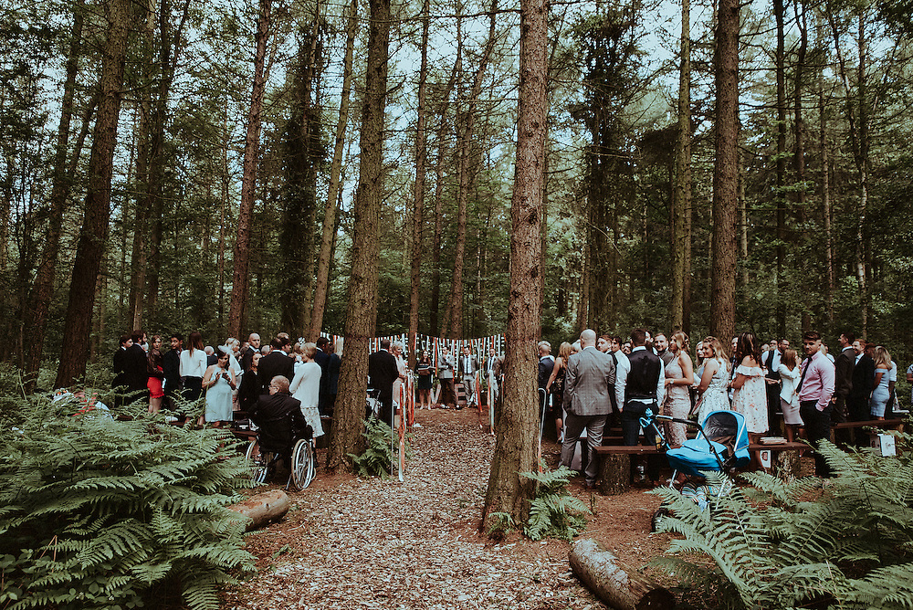 Eleanor & Rob's Wedding, Ceremony & Reception at Camp Katur Bedale. 18th June 2016