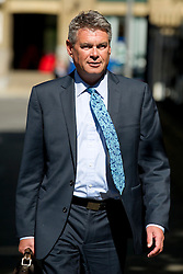 © London News Pictures. 05/06/2013. London, UK. Sun deputy editor GEOFF WEBSTER leaving Southwark Crown Court in London where he faced charges relating to phone hacking scandal at News International and payments to officials. Photo credit: Ben Cawthra/LNP