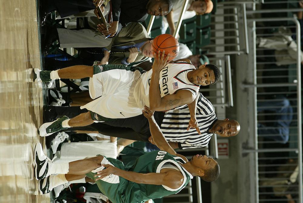 2004 Miami Hurricanes Basketball vs Stetson