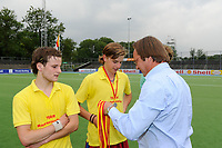 hockey, seizoen 2010-2011, 10-06-2011, amstelveen, Finale Nationale Shell Schoolhockeycompetitie 2011, Jongens Oud Rijnlands Lyceum Wassenaar - Maartenscollege Haren 6-0, Maartenscollege Haren