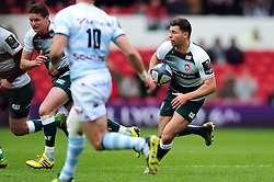 Ben Youngs of Leicester Tigers goes on the attack - Mandatory byline: Patrick Khachfe/JMP - 07966 386802 - 24/04/2016 - RUGBY UNION - The City Ground - Nottingham, England - Leicester Tigers v Racing 92 - European Rugby Champions Cup Semi Final.