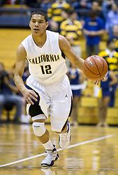 December 29, 2009; Berkeley, CA, USA;  California Golden Bears guard Brandon Smith (12) during the second half against the UC Santa Barbara Gauchos at Haas Pavilion.  California defeated UC Santa Barbara 87-66.