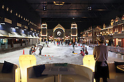 Snow Town, a brand new attraction inside one of the hundreds of shopping malls in Thailand. The hunger for electricity in cities like Bangkok is driving dam construction throughout the lower Mekong basin in Cambodia and Laos with an environmental impact that can be felt up to the river's delta in Vietnam.