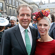 NLD/Den Haag/20110920 - Prinsjesdag 2011, Alexander Pechtold en partner Froukje Idema
