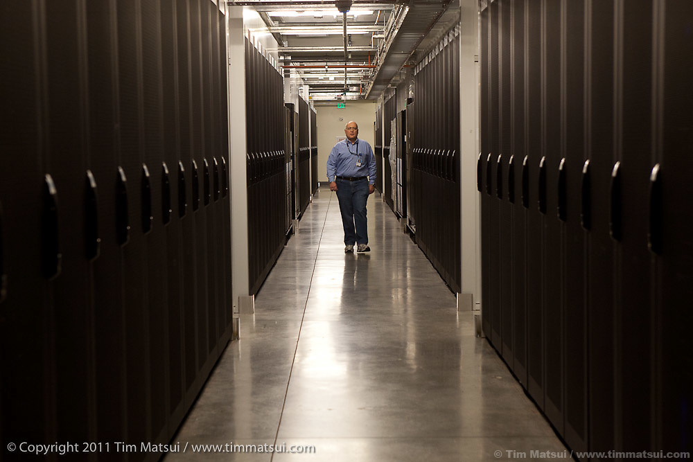 Tour of Microsoft's first purpose-built Research and Development Support (R&DS) facility designed to consolidate computer labs from the main Redmond campus and house servers used in the development and testing of its software products in Redmond, Washington, USA, on Wednesday, June 8, 2011. Photo by Tim Matsui / Microsoft.