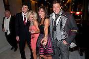 ALEX GAUMOND; SHERIDAN SMITH; JILL HALFPENNY; DUNCAN JAMES, , Savoy Theatre's Legally Blonde- The Musical,  Gala night. After-party at the Waldorf Hilton. London. 13 January 2010.