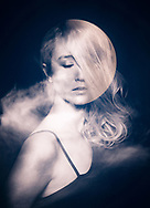 Dedicated to the many PHASES of the moon.  Lunar shapes with fashion models.<br />