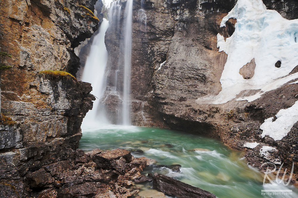 Upper Johnston Canyon Falls, Banff National Park, Alberta, Canada
