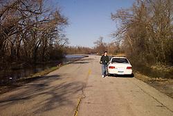 Bush Creek Marsh Arch Rainbow Bridge on Old Route 66 Riverton, KS. Pete Greeley & Subaru Impreza