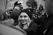 MADONNA, , , , Womens's March on  Washington DC. 21 January 2017