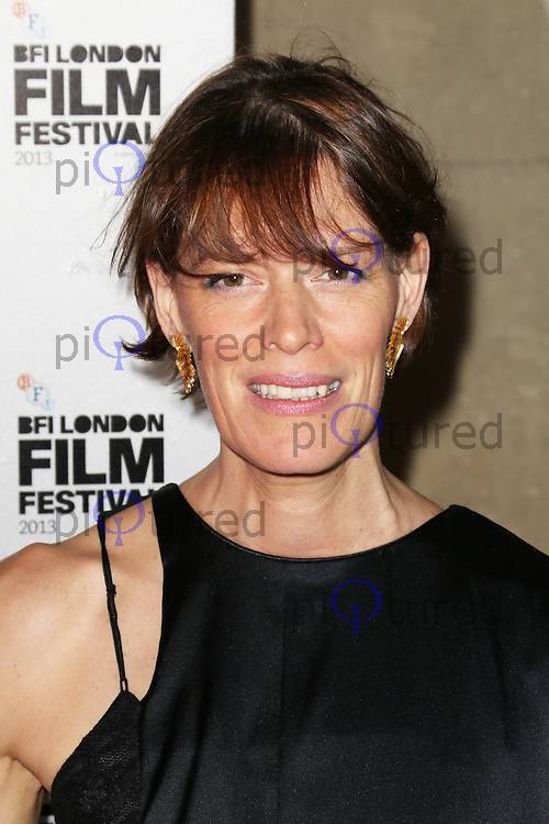 Clio Barnard, The BFI London Film Festival Awards, Banqueting House, London Uk, 19 October 2013, Photo by Richard Goldschmidt