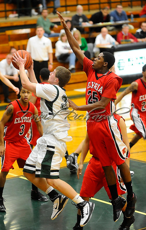 The Elyria High boys varsity basketball team defeated host Elyria Catholic on January 25, 2011.