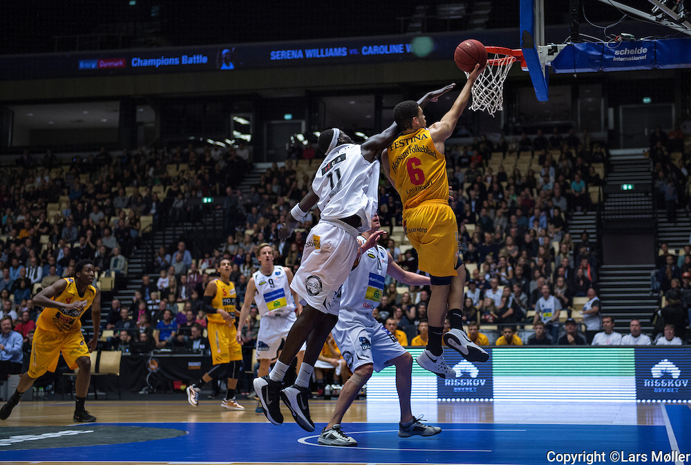 DK caption:<br /> Herning, Danmark, 20151107: <br /> Basketball, Bakken Bears - Horsens IC.<br /> Foto: Lars M&oslash;ller<br /> UK Caption:<br /> Herning, Denmark, 20151107: <br /> Basketball, Bakken Bears - Horsens IC.<br /> Photo: Lars Moeller