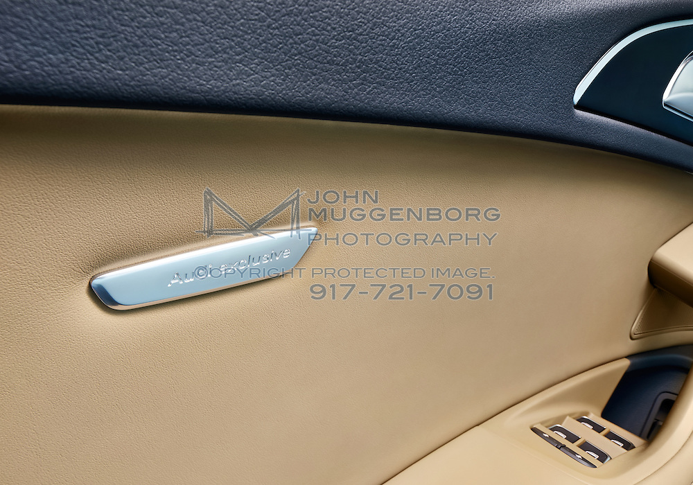 An Audi S6 with the Audi Exclusive interior package photographed by John Muggenborg.