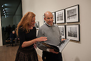 PETRA GILROY-HIRTZ; ANTONY D'OFFAY, Warhol, Burroughs and Lynch exhibition. The Photographers' Gallery, Ramillies Place, London. 16 January 2014.