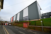 General view outside Exeter City Football Club with the new Stagecoach Adam Stansfield Stand before the EFL Sky Bet League 2 match between Exeter City and Grimsby Town FC at St James' Park, Exeter, England on 29 December 2018.