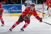 KELOWNA, CANADA - JANUARY 21: Cody Glass #8 of the Portland Winterhawks skates against the Kelowna Rockets on January 21, 2017 at Prospera Place in Kelowna, British Columbia, Canada.  (Photo by Marissa Baecker/Getty Images)  *** Local Caption *** Cody Glass;