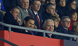 SOUTHAMPTON, ENGLAND - Saturday, November 19, 2016: Everton's chairman Bill Kenwright watches as his side lose 1-0 to Southampton during the FA Premier League match at St. Mary's Stadium. (Pic by David Rawcliffe/Propaganda)