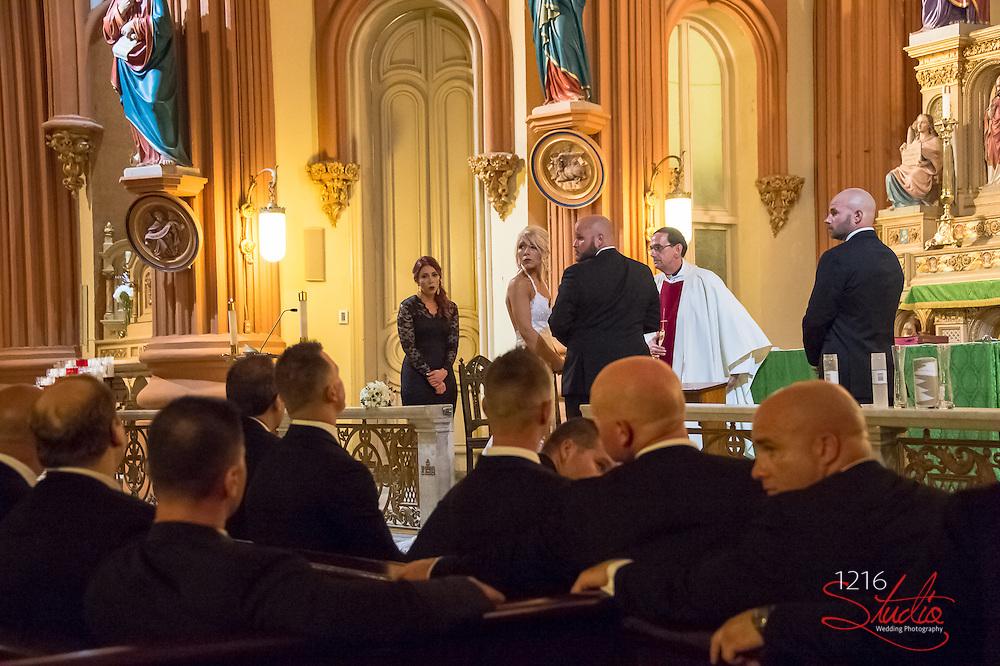 Randy & Jessica Wedding Album St. Mary's Assumption Ceremony Southport Hall Reception 1216 Studio New Orleans Wedding Photographers