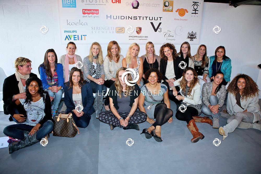 AMSTERDAM - Bij de Amsterdam City Spa hield de Class Company weer een Mom's Moment. Diversen bekenden en onbekende moeders worden weer een hele dag verzorgt en vertroeteld. FOTO LEVIN DEN BOER - PERSFOTO.NU