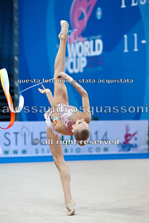 "Yana Kudryavtseva ""The Queen"" is a Russian gymnast born in Moscow on 30 September 1997. Until her retirement in 2017 was one of atllete most awarded in the history of rhythmic gymnastics."