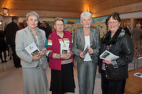 Nuala King, Bernie Fitgerald, anne Waldron and Bridget Keane from Athenry at the Launch of the SCCUL Sanctuary at Kilcuan, Clarinbridge .<br /> Photo:Andrew Downes