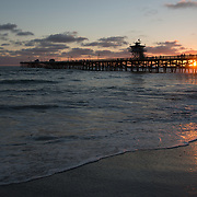 San Clemente pier. California.