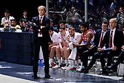 DESCRIZIONE : Bologna Lega A 2014-15 Granarolo Bologna Consultinvest Pesaro<br /> GIOCATORE : Riccardo Paolini<br /> CATEGORIA : delusione allenatore<br /> SQUADRA : Consultinvest Pesaro<br /> EVENTO : Campionato Lega A 2014-15<br /> GARA : Granarolo Bologna Consultinvest Pesaro<br /> DATA : 19/04/2015<br /> SPORT : Pallacanestro <br /> AUTORE : Agenzia Ciamillo-Castoria/M.Marchi<br /> Galleria : Lega Basket A 2014-2015 <br /> Fotonotizia : Bologna Lega A 2014-15 Granarolo Bologna Consultinvest Pesaro