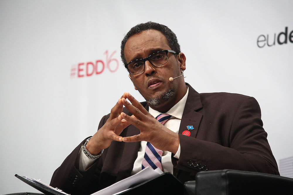 20160616 - Brussels , Belgium - 2016 June 16th - European Development Days - Local action to address fragility and protracted displacement - Mohamed Omer Arteh , Deputy Prime Minister , Somalia © European Union