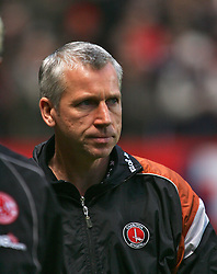 London, England - Saturday, January 13, 2007: Charlton Athletic's manager Alan Pardew during the Premiership match at the Valley. (Pic by Chris Ratcliffe/Propaganda)