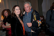 ALEX SHULMAN; DAVID BAILEY, Dinner to mark 50 years with Vogue for David Bailey, hosted by Alexandra Shulman. Claridge's. London. 11 May 2010