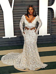 Serena Williams attends the 2016 Vanity Fair Oscar Party held at the Wallis Annenberg Center for the Performing Arts in Beverly Hills, Los Angeles, CA, USA on February 28, 2016. Photo by Gisele Tellier/ABACAPRESS.COM    536694_014 Los Angeles Etats-Unis United States