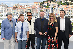 Edward Walson, director Kevin Connolly, Stacy Keach, John Travolta, Kelly Preston attending the Rendez-vous with John Travolta - Gotti Photocall held at the Palais des Festivals as part of the 71th annual Cannes Film Festival on May 15, 2018 in Cannes, France. Photo by Aurore Marechal/ABACAPRESS.COM