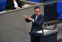 DEU, Deutschland, Germany, Berlin, 05.09.2017: Cem Özdemir, Parteivorsitzender B90/Die Grünen, bei einer Rede im Deutschen Bundestag.