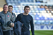 Fleetwood Town Manager, Joey Barton arrives at Fratton park during the EFL Sky Bet League 1 match between Portsmouth and Fleetwood Town at Fratton Park, Portsmouth, England on 20 October 2018.
