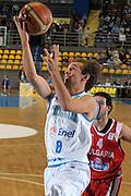 DESCRIZIONE : Torino Qualificazione Eurobasket 2009 Italia Bulgaria<br /> GIOCATORE : Giuseppe Poeta<br /> SQUADRA : Nazionale Italia Uomini<br /> EVENTO : Raduno Collegiale Nazionale Maschile <br /> GARA : Italia Bulgaria Italy Bulgaria<br /> DATA : 17/09/2008 <br /> CATEGORIA : Tiro<br /> SPORT : Pallacanestro <br /> AUTORE : Agenzia Ciamillo-Castoria/G. Ciamillo <br /> Galleria : Fip Nazionali 2008<br /> Fotonotizia : Torino Qualificazione Eurobasket 2009 Italia Bulgaria<br /> Predefinita :