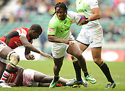 LONDON, ENGLAND - Sunday 11 May 2014, Seabelo Senatla of South Africa during the Plate final match between South Africa and Kenya at the Marriott London Sevens rugby tournament being held at Twickenham Rugby Stadium in London as part of the HSBC Sevens World Series.<br /> Photo by Roger Sedres/ImageSA