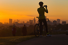 2016-10-04 London sunrise from Primrose Hill