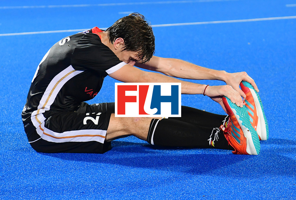 Odisha Men's Hockey World League Final Bhubaneswar 2017<br /> Match id:21<br /> India v Germany<br /> Foto: India won the Brons Medal against Germany<br /> Florian Fuchs (Ger)  <br /> COPYRIGHT WORLDSPORTPICS FRANK UIJLENBROEK